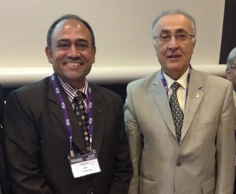 Dr. Tilak Lall at the Euro PCR 2012